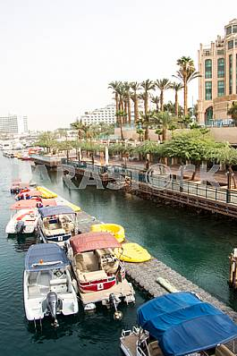 Seafront near the Hilton Queen of Sheba Hotel in Eilat