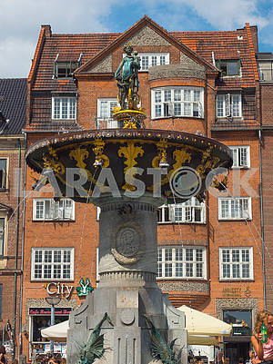 The Fountain of Mercy in Copenhagen
