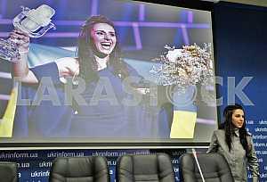 Press conference Jamala