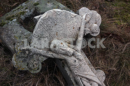 Cross in the village cemetery XVIII-XIX centuries
