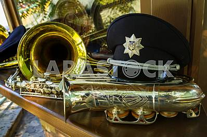 Inspectors patrol police handed the officer ranks in Uzhgorod
