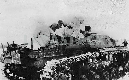 Captured german self-propelled assault gun