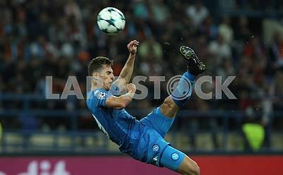 Arkadiusz Milik, the player of Napoli