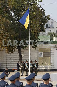 Celebrating the Day of the National Flag in Kiev