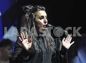 Jamala concert in Kiev.