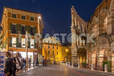 Arena di Verona in Piazza Bra