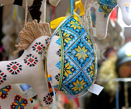 Souvenirs at the Christmas fair