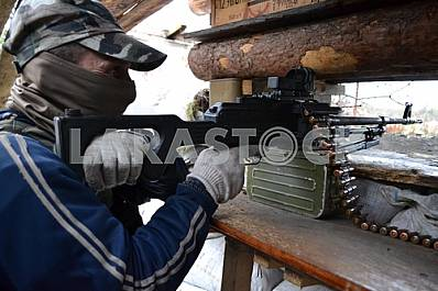 "A fighter with a call sign ""Crimea"" in Avdeevka"