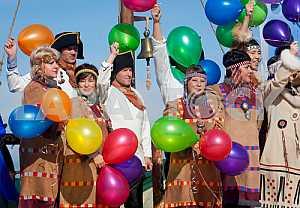 Celebration of the 275 anniversary of Bering Island