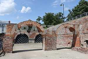 Poland brick arch