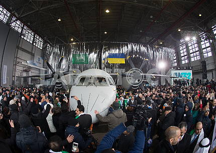Presentation of the AN-132D aircraft