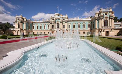 Fountain near the Mariinsky Palace