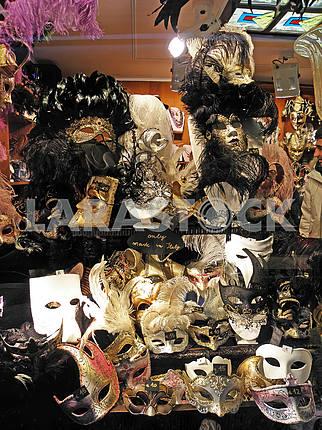 Carnival in Venice,fancy masks,1