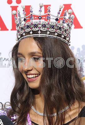 Miss Ukraine Polina Tkach