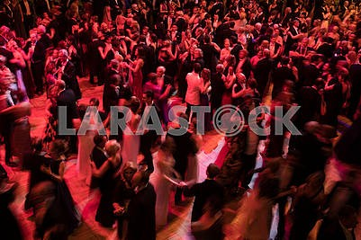Dancers at the Vienna Ball