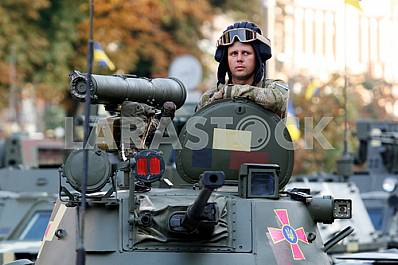 Dress rehearsal of the military parade dedicated to the Day of Independence of Ukraine