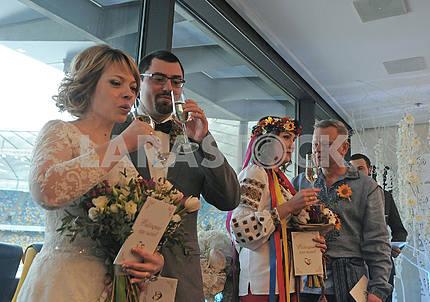 Marriage registration ceremony