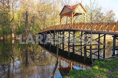 Bridge across the lake