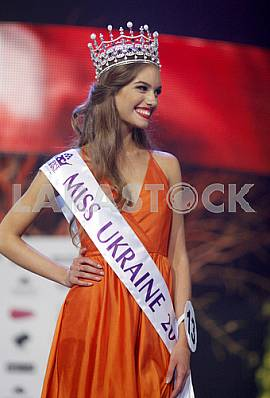 The Miss Ukraine 2016 Olexandra Kucherenko