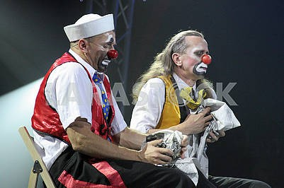 Clowns in the circus
