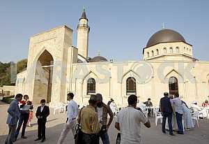The celebration of the Eid al-Adha in Kiev