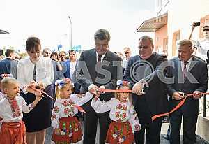 President attends opening of kindergarten