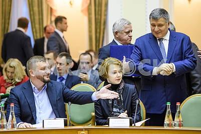 Pavel Petrenko, Elena Zerkal, Arsen Avakov