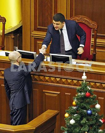 An extraordinary session of the Verkhovna Rada of Ukraine