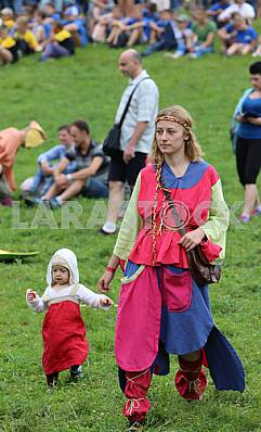 "Participants of the festival ""Tustan"" August 6, 2016, the village Urych"