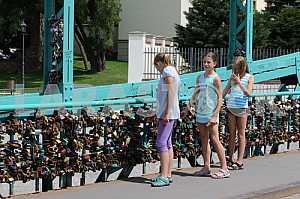Wroclaw, Poland, Tumski Bridge