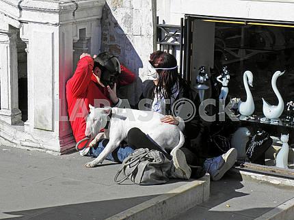 Carnival in Venice,Italy,Europe,1
