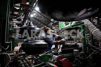 Tire shop in Rosava