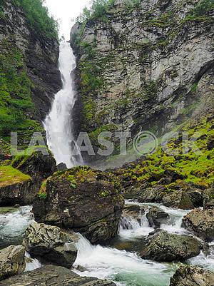 Stalheimfossen Falls