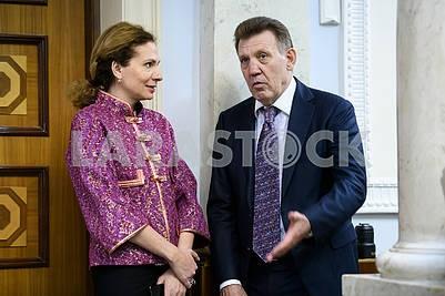 Yulia Levochkina, Sergey Kivalov