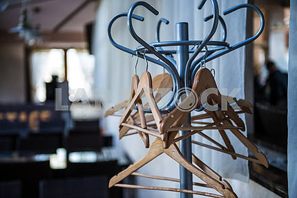 Hangers for clothes on a hanger