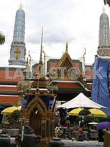 Grand Palace. Bangkok, Thailand. 2012.