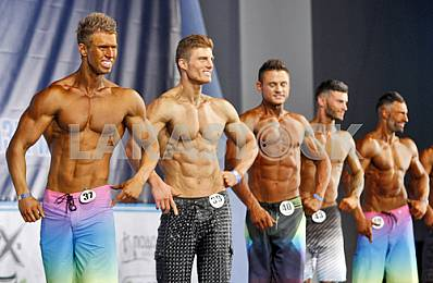 Competition in bodybuilding Kiev Cup