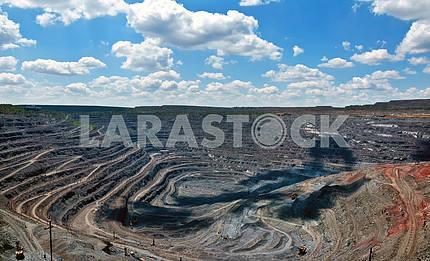 opencast mine