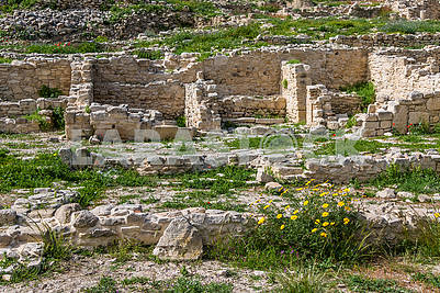 Ruins of the ancient city of Amathus