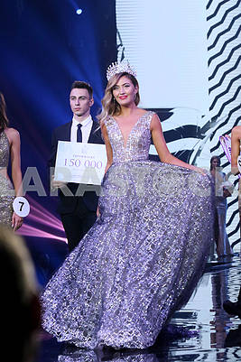 "The owner of the title ""Miss Ukraine Earth -2017"" Diana Mironenko"