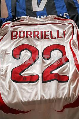 Borriello original football jersey