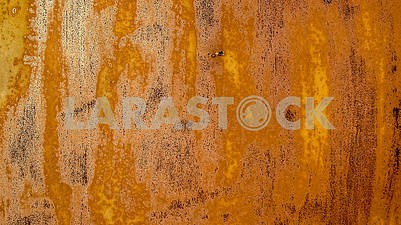 Background rusty sheet of metal close up