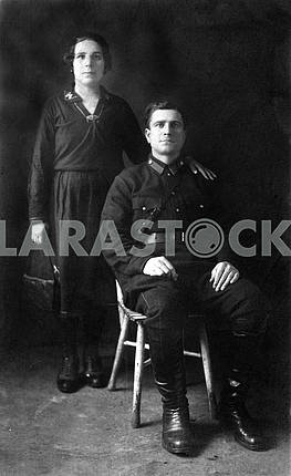 The soldier and his wife