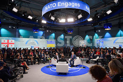 Participants of the NATO summit