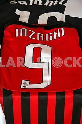 Inzaghi original football jersey