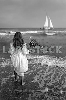Girl and the Sea