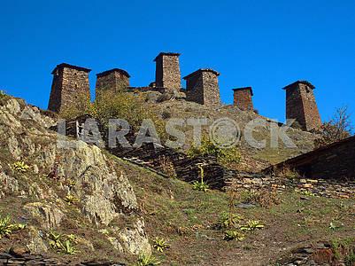 Fortress Keselo, Omalo, Georgia