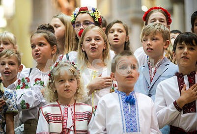 Ukrainian children's choir