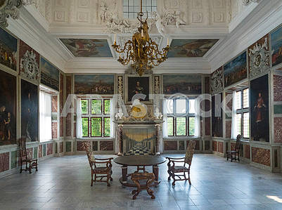 interior of the castle Rosenborg