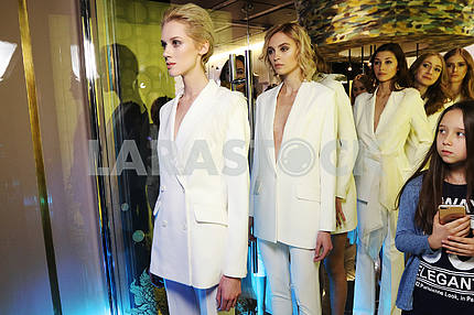 Showing the wedding line of the brand Katerina Kvit